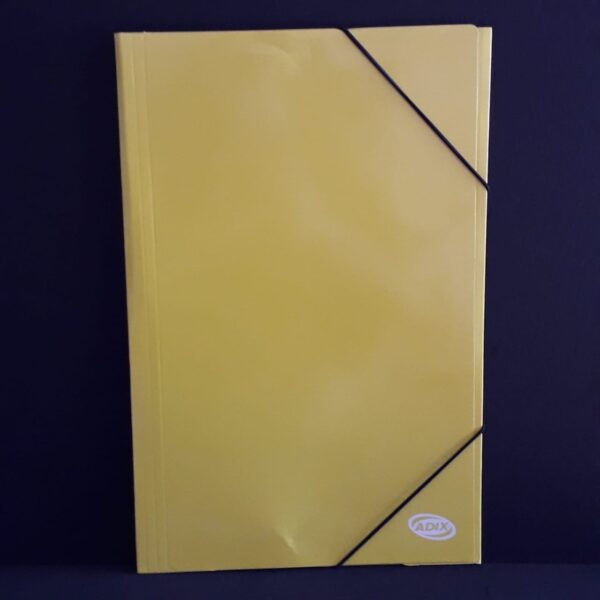 Carpeta Oficio Carton C/Elas. Amarillo (006) Adix