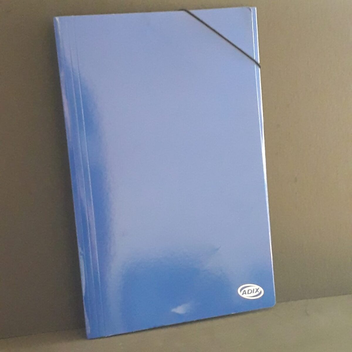 Carpeta Oficio Carton C/Elas. Azul (002) Adix