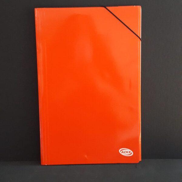Carpeta Oficio Carton C/Elas. Rojo (001) Adix