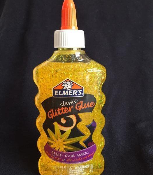 Pegamento Glitter Elmers Amarillo