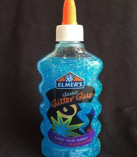 Pegamento Glitter Elmers Azul