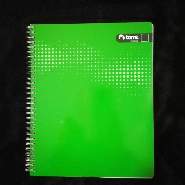 Cuaderno Universitario Torre Clasico Liso Croquis