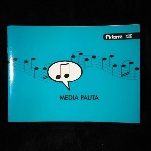Cuaderno Torre Musica Media Pauta 10h