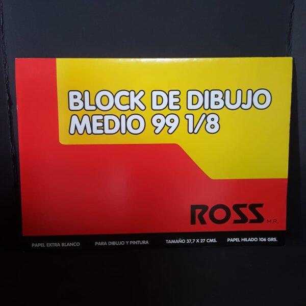 Block Ross n99 1/8 10h 106G 37,7X27cm