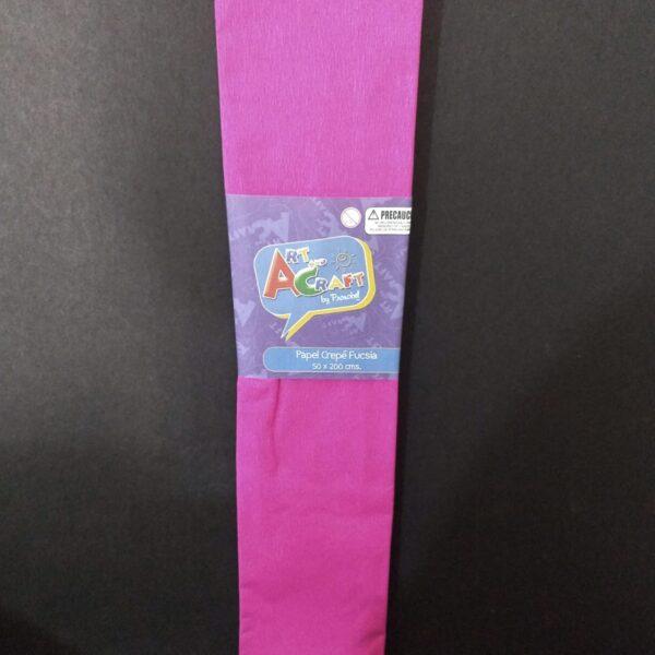 Papel Crepe 50x200 cm Fucsia Art & Craft
