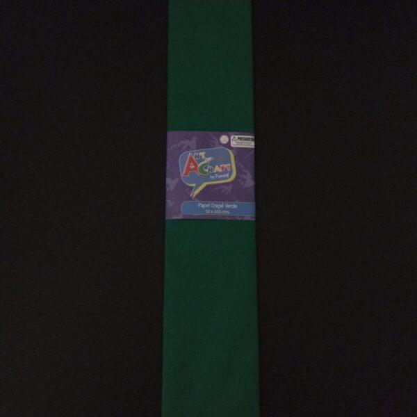 Papel Crepe 50x200 cm Verde Art & Craft