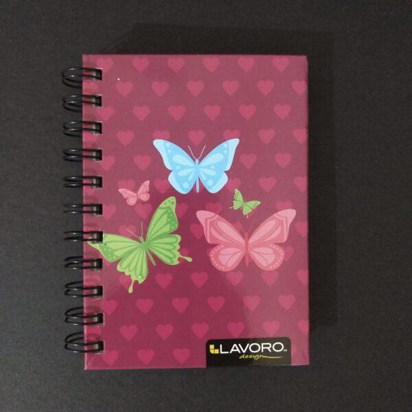 Cuaderno Pocket 100 Hojas Doble Espiral 80 gr Lavoro