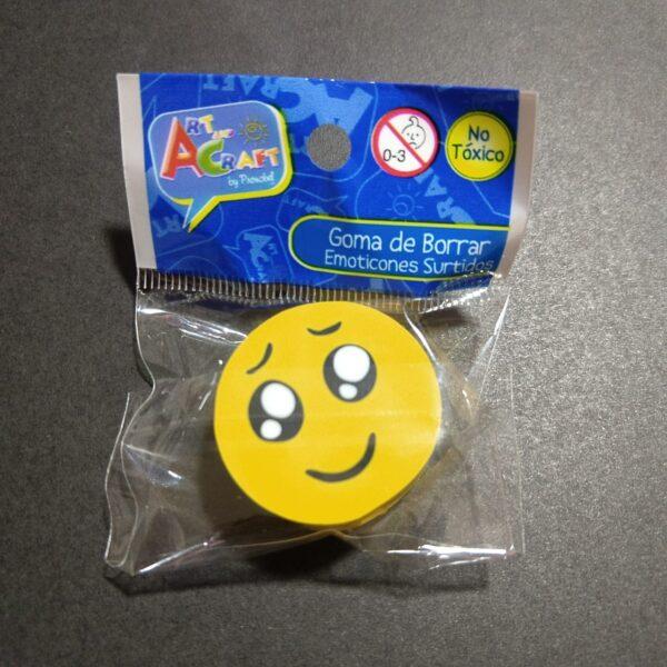 Goma de Borrar Emoticones Art & Craft