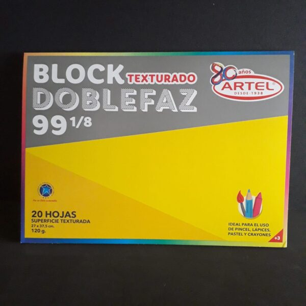 Block Medium Doble Faz 99 1/8 20 H Artel