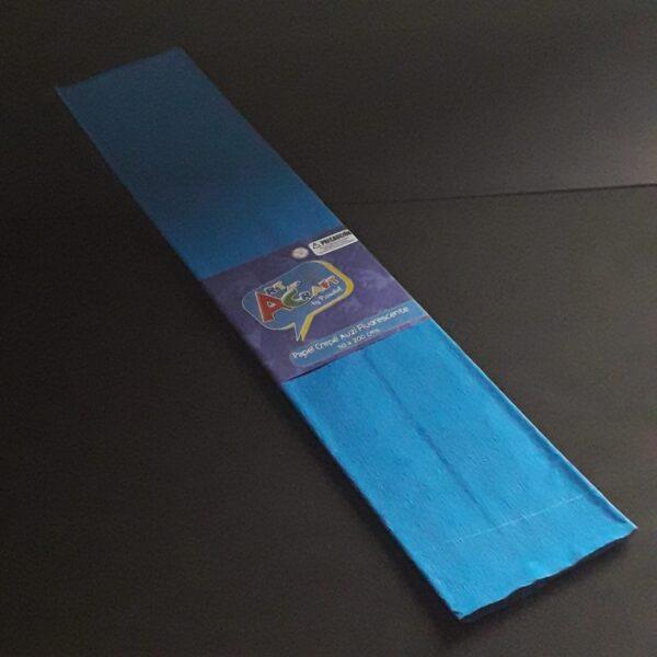 Papel Crepe 50x200 cm Azul Fluorescente Art & Craft
