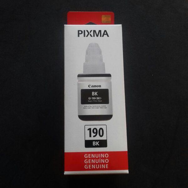 Tinta Canon GI-190BK NEGRO 135 ML