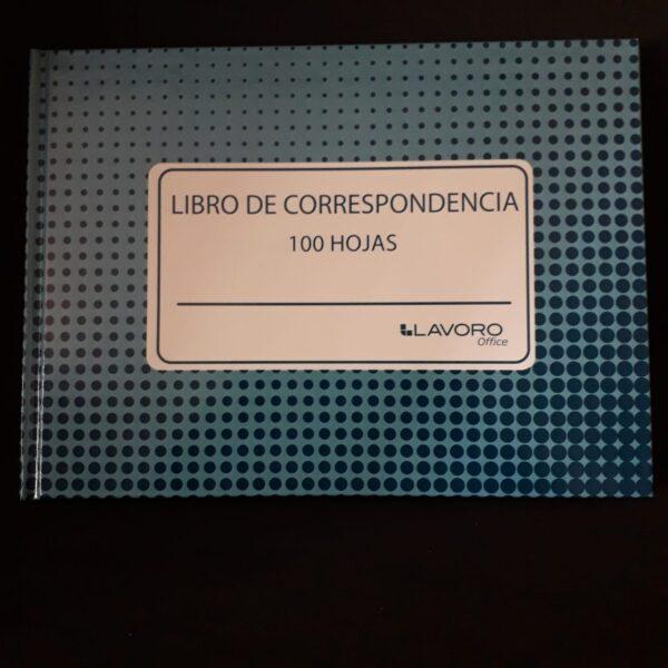 Libreta de Correspondencia 100 hojas LAVORO