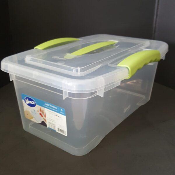 Caja Organizadora 6 litros 22x33x15 cm Wenco