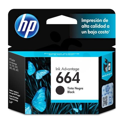 Cartridge HP 664 Black