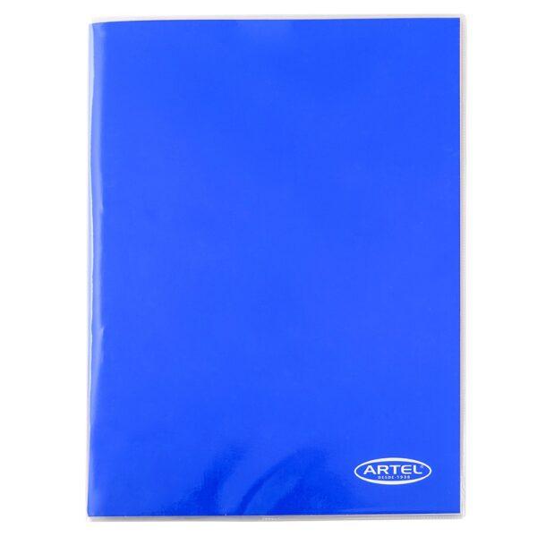Carpeta Azul con Gusano Artel