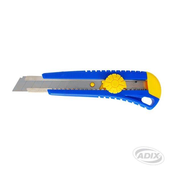 Cuchillo Cartonero 18mm. con S/Automatico ADIX
