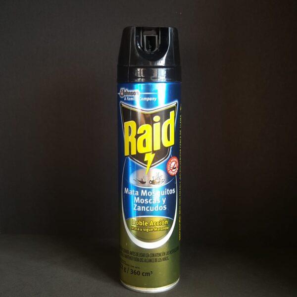 Raid Max mata mosca, mosquito, zancudo 222g