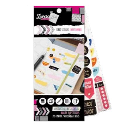 Libro de Stickers Planner Surtidos Lavoro