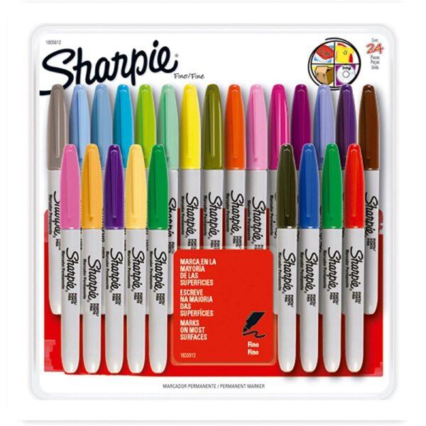 Marcadores Sharpie Colores Surtidos Set 24 unid.